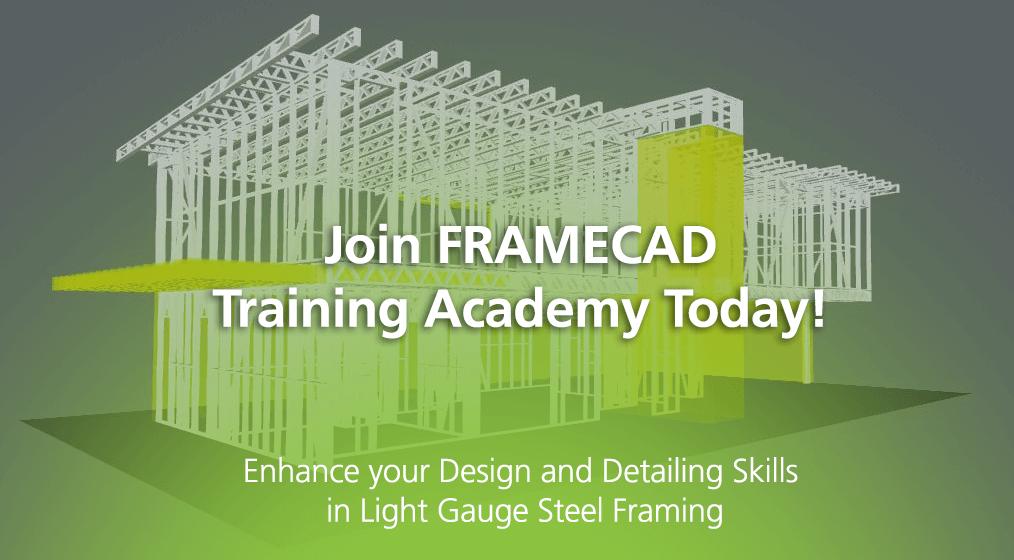 FRAMECAD Training Academy