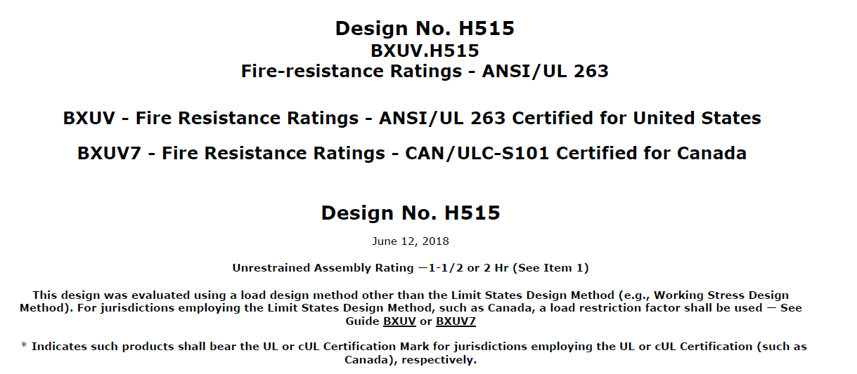 Ul Certification 2 Hr Fire Rated For The Framecads Flooring System