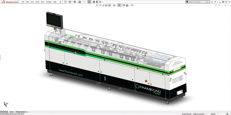 FRAMECAD Equipment - Solidworks