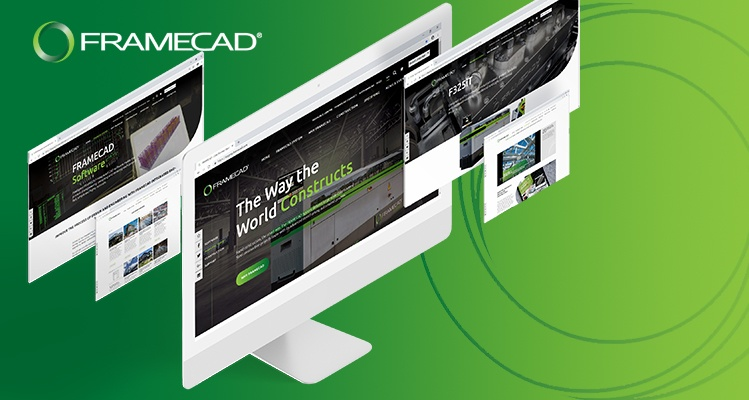 Leading the Way in Innovation for Cold Formed Steel, FRAMECAD are Proud to Announce their New Website