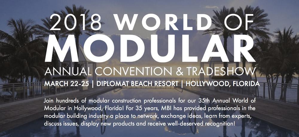 The World of Modular, 2018